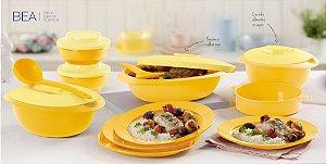 Tupperware BEA Kit 11 peças Amarelo para Servir
