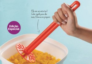 Tupperware Amassador de Batatas Preparar