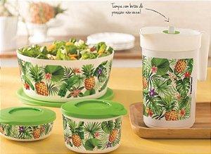 Tupperware Kit 4 peças Ilúmina Tropical