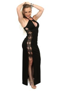 vestido longo sensual UV06