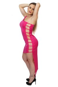 Vestido Sensual em Jersey DZ05