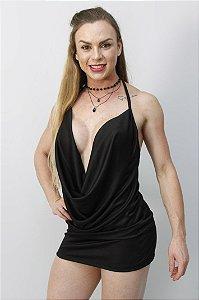MINIVESTIDO SENSUAL EM ELANCA TH06