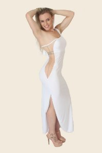 Vestido Longo Sensual UK12