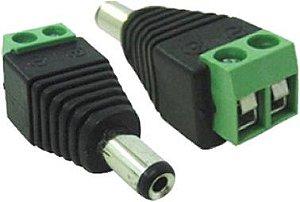 CONECTOR P4 MACHO DE PARAFUSAR (CAMERA)