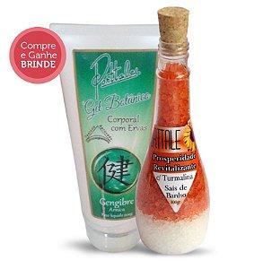 Kit Gel Botânico mais Sal de Banho Prosperidade