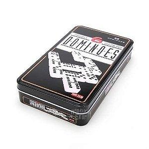 Jogo de Domino em Lata Deluxe