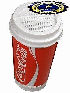 Caixa De Som Copo Coca Cola Mp3 Usb Pen Drive Cartão Sd Aux