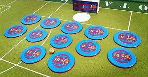 Time De Botão Do Barcelona (12 Botões)