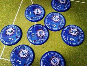 Time De Botão Do Chelsea