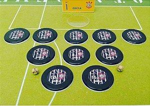 Corinthians Black (10 botões)