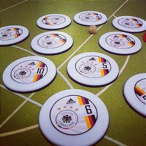 Time/Jogo de Botão Alemanha Tetra-Campeã