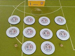 Time de Botão Corinthians (camisa)