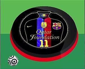 Time De Botão Barcelona Black