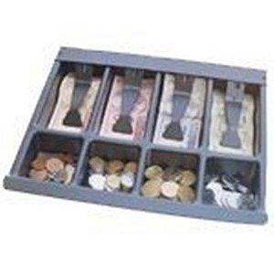 Divisória p/ Dinheiro com 13 Cavidades com prendedor de Notas