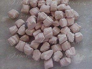 Doces para festas - Bala de Coco Chocolate - 01kg - Produto caseiro feito por encomenda