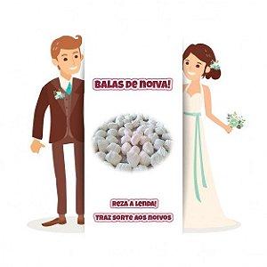 Balas de noiva - Tradicionais brancas - 1 1/2 Quilo