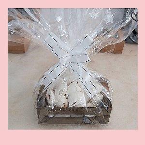 Bala de coco em caixotinhos personalizados - 10 unidades