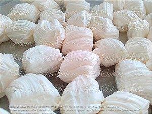 Doces para festa infantil - Balas de coco artesanais | Tradicionais cor branca | 1 Quilo