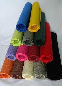 Manta de Feltro de Lã Prensada tamanho - 30cmx50cmx2mm
