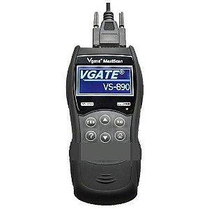 Scanner Automotivo Obd2 Maxiscan Vs890 Plna Tc