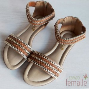 Sandália 047 Caramelo