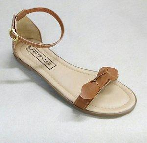Sandália Laço Caramelo