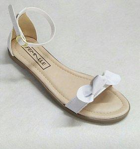 Sandália Laço Branco
