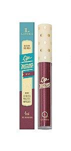 Batom Líquido Latika Lip Matte Vinho Metalico nº41
