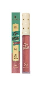 Batom Líquido Latika Lip Matte Nude Metalico nº45