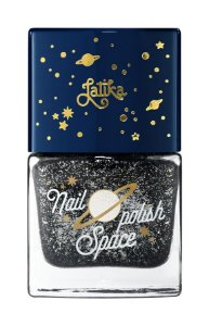 Latika Nail Space Preto Dark Galaxy