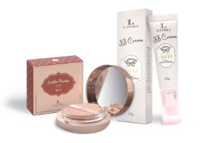 Latika Powder Bege Claro + BB Cream Bege Claro