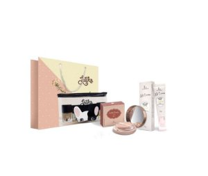 Powder Bege Escuro + BB cream Bege Escuro + Kit Necessaire Puppy