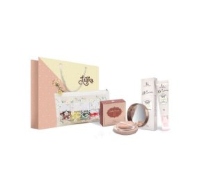 Powder Bege Claro + BB cream Bege Claro + Kit Necessaire Daisy