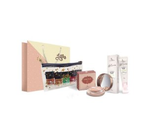 Powder Bege Escuro + BB cream Bege Escuro + Kit Necessaire Space