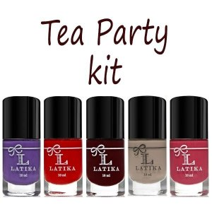 Kit Esmalte Latika Tea Party Kit