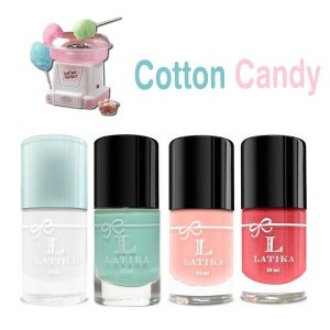 Kit Esmalte Latika Cotton Candy