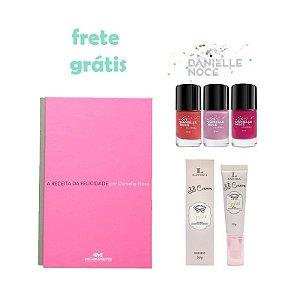 Danielle Noce Kit A Receita da Felicidade Esmaltes BB Cream Bege Medio Latika