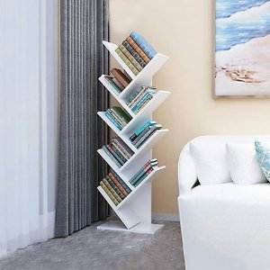 Estante Livros Mdf Branco tx 18 mm