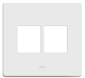 Placa 4x4 - 4 Postos Horizontais + Suporte - Simon 20