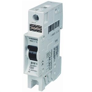 Disjuntor Monopolar 16A 380/3KA Siemens