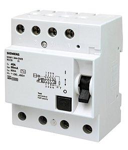 Dispositivo DR Tetrapolar 40A/30MA Siemens