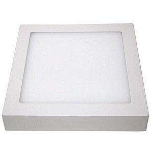 Painel de LED Quadrado de Sobrepor 25W Bivolt