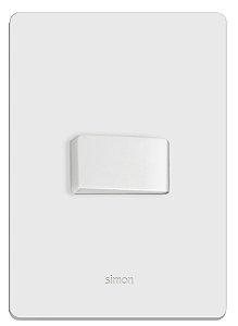 conjunto com interruptor branco simon