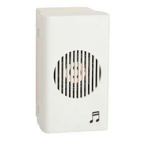 Módulo Campainha Eletrônica 2 Tons 90-230v Branco 3 Fios