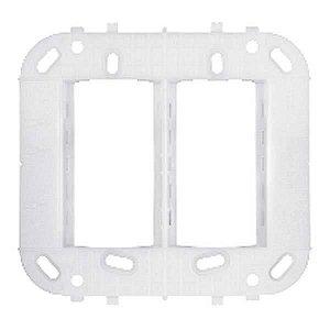 Lunare Branco Suporte p/ Placas 4x4 Schneider