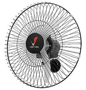 Ventilador Oscilante de Parede 60 cm Preto Ventura