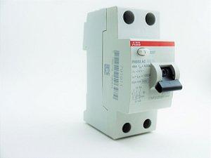 Interruptor DR 2P 63A 30mA ABB