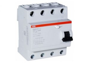 Interruptor DR 4P 25A 30mA ABB