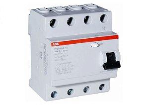 Interruptor DR 4P 40A 30 mA ABB