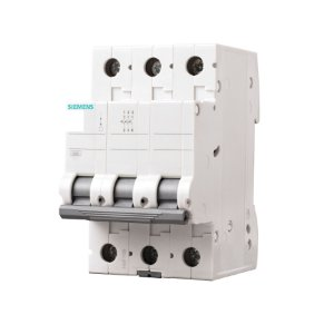 Disjuntor Siemens 5SL1 25A Tripolar Curva C